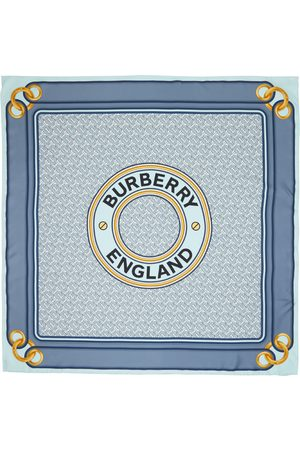 Burberry Women Scarves - Silk Montage Square Scarf