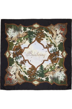 Burberry Women Scarves - Silk Archive Square Scarf