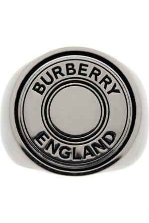 Burberry Men Rings - Logo Graphic Signet Ring