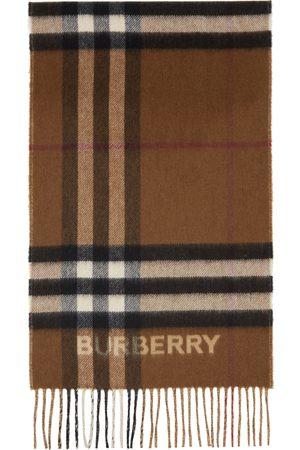 Burberry Men Scarves - Cashmere Contrast Check Scarf