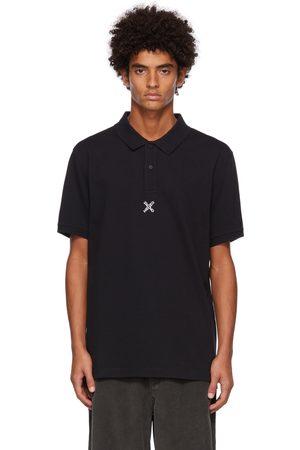 Kenzo Men Polo Shirts - Black Sport Logo Polo