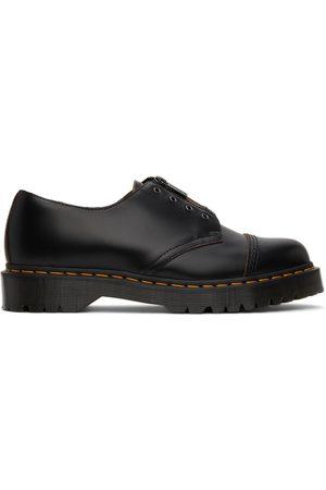 Dr. Martens Men Formal Shoes - Black Laceless Smiths Bex Derbys