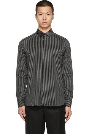 Saint Laurent Men Shirts - Poplin Striped Shirt