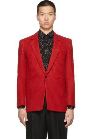 Saint Laurent Men Blazers - Wool Striped Blazer