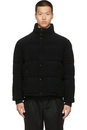 Saint Laurent Men Puffer Jackets - Corduroy Down Puffer Jacket