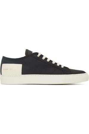 COMMON PROJECTS Women Sneakers - Black & Off-White Tournament Low Sneakers