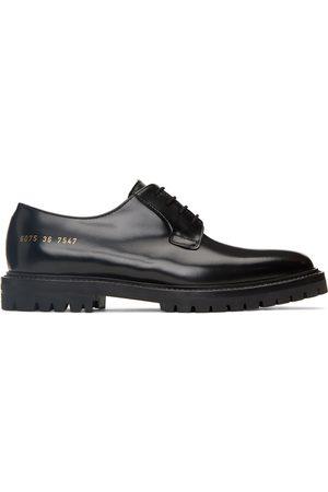COMMON PROJECTS Women Formal Shoes - Black Lug Sole Derbys