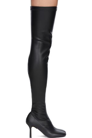 Stella McCartney Women Thigh High Boots - Black Ivy Over-The-Knee Boots