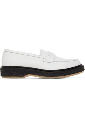 ADIEU PARIS Men Loafers - White Type 5 Loafers