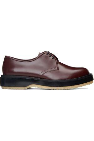 ADIEU PARIS Men Formal Shoes - Burgundy Type 54C Derbys