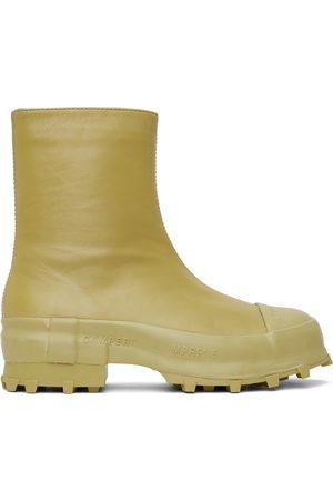 Camper Lab Men Boots - Khaki Traktori Boots