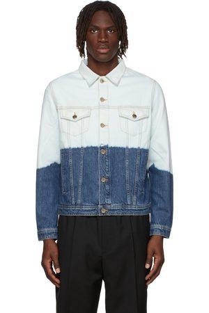 Etudes Men Denim Jackets - Blue Kentucky Denim Jacket