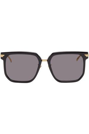 Bottega Veneta Women Square - Black Oversized Square Sunglasses