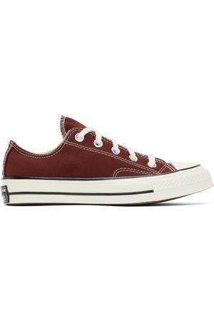 Converse Women Sneakers - Burgundy Chuck 70 Low Sneakers