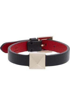 VALENTINO GARAVANI Women Bracelets - Black Roman Stud Bracelet