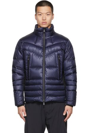 Moncler Men Jackets - Blue Down Canmore Jacket
