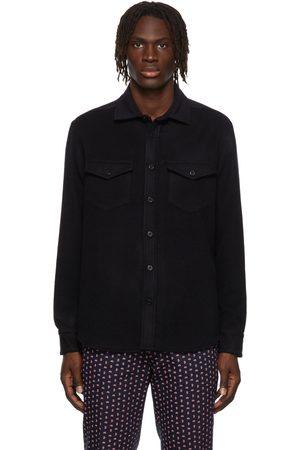 Noah NYC Men Casual - Cashmere CPO Shirt