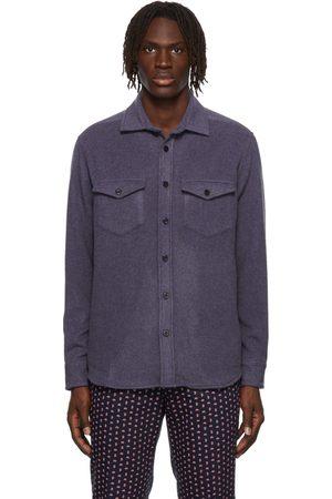 Noah NYC Cashmere CPO Shirt