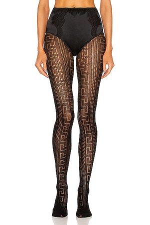 VERSACE Women Stockings - Greca Tights in