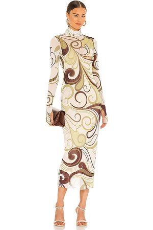 AFRM Shailene Dress in Sage.