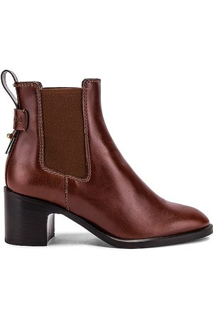See by Chloé Annylee Boot in Rust.