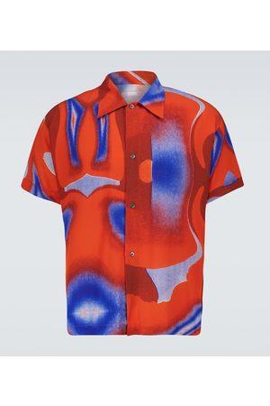 ERL Men Short sleeves - Printed short-sleeved shirt