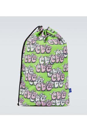 Comme des Garçons Men Luggage - X KAWS printed gym bag