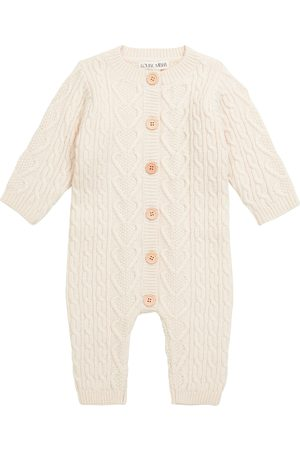 Louise Misha Rompers - Baby Joseph cable-knit onesie