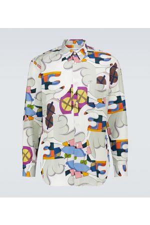 Comme des Garçons Printed long-sleeve shirt