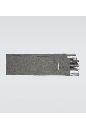 Acne Studios Men Scarves - Alpaca-blend bouclé scarf