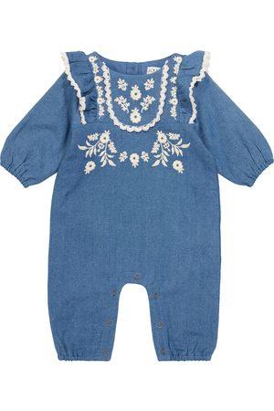 Louise Misha Baby Fideo denim onesie