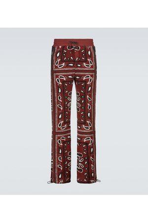 AMIRI Men Sweatpants - Bandana printed fleece sweatpants