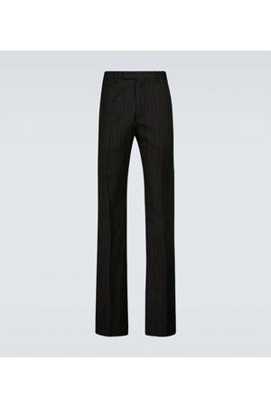 AMIRI Lurex flared striped pants