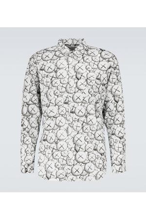 Comme des Garçons Kaws printed long-sleeve shirt
