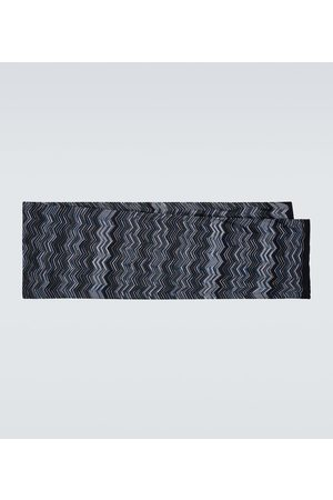 Missoni Men Scarves - Wool chevron scarf