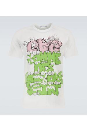 Comme des Garçons Men Short Sleeve - X KAWS printed short-sleeved T-shirt