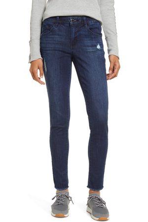 Wit & Wisdom Women Skinny - Women's Luxe Touch Frayed Skinny Jeans