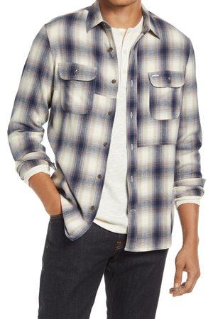 Treasure & Bond Men's Patchwork Button-Up Shirt