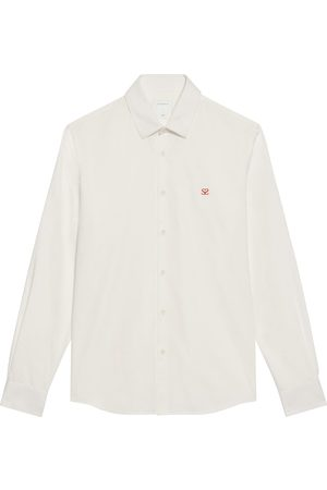 Sandro Men Shirts - Men's Cotton Button-Up Shirt