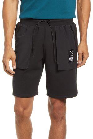 PUMA Men Shorts - Men's X First Mile Knit Cargo Shorts