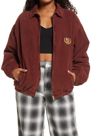 BDG Urban Outfitters Women's Billy Crest Corduroy Jacket