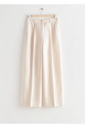& OTHER STORIES Tailored High Waist Trousers