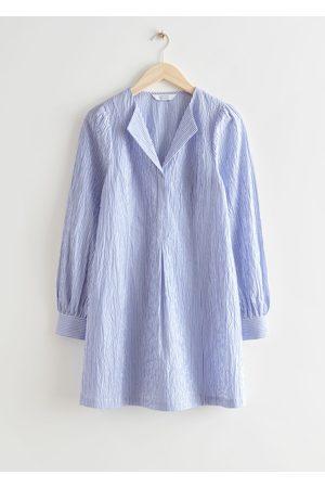 & OTHER STORIES Women Casual Dresses - Striped Mini Shirt Dress