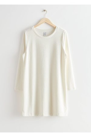 & OTHER STORIES Women Casual Dresses - Oversized Ribbed Mini Dress