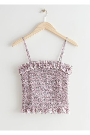 & OTHER STORIES Strappy Smock Top