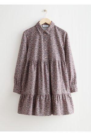 & OTHER STORIES Women Casual Dresses - Voluminous Mini Shirt Dress