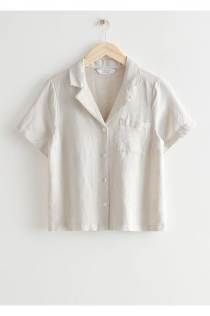 & OTHER STORIES Women Short sleeves - Chest Pocket Short Sleeve Shirt