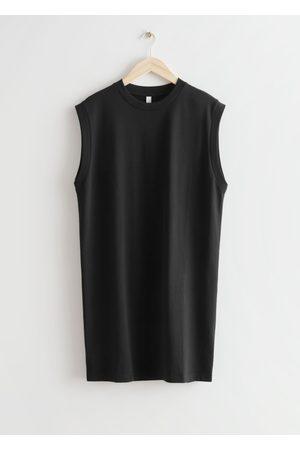& OTHER STORIES Women Casual Dresses - Sleeveless Jersey Mini Dress