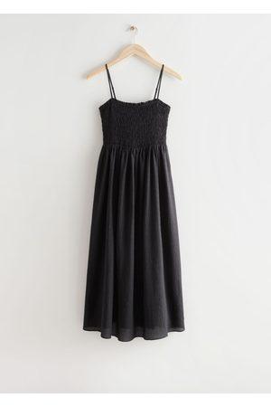 & OTHER STORIES Women Midi Dresses - Smocked Midi Dress