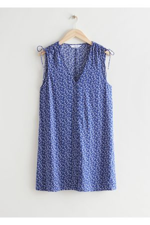 & OTHER STORIES Women Party Dresses - Sleeveless Printed Mini Dress